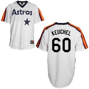 Houston Astros Dallas Keuchel 60 MLB Men's Authentic Jerseys