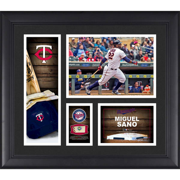 Minnesota Twins Miguel Sano Fanatics Authentic Framed 15