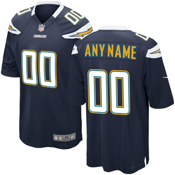 Men's Los Angeles Chargers Nike Navy Custom Game J cheap Quigley jersey men